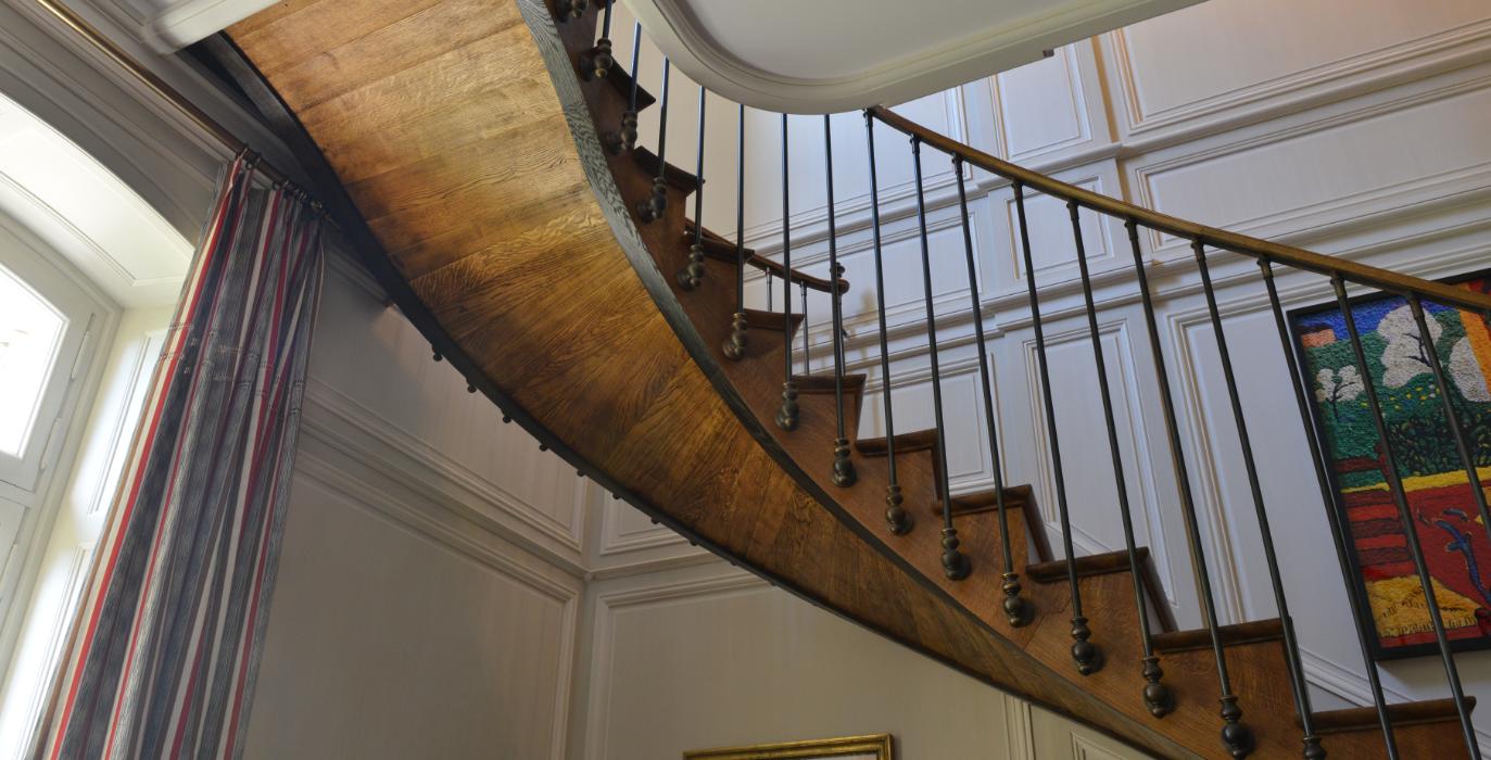 Garde Corps Haut Escalier escaliers ∣ menuiserie ∣ ateliers férignac